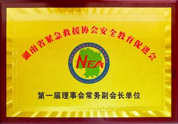 湖南省紧急救援协会安全教育促进会理事会常务副会长单位